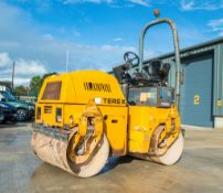 Terex TV1200 double drum ride on roller Year: 2007 S/N: E703CD092 Recorded Hours: 2476 VD