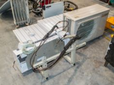 Mitsubishi air conditioner c/w wall mount