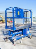 JLG Power Tower push along battery electric access platform Year: 2017 S/N: 36324417A 08PT0171