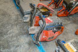 2 - Husqvarna K760 petrol driven cut off saws ** Parts missing **