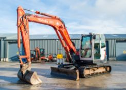 Kubota KX080-3 8 tonne rubber tracked excavator Year: 2012 S/N: 26381 Recorded Hours: 5162 blade,