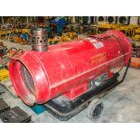 Munters diesel fuelled space heater VD
