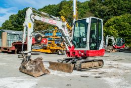 Takeuchi TB228 2.8 tonne rubber tracked mini excavator Year: 2013 S/N: 22802670 Recorded Hours: Not