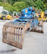 Rotar 08011-3 hydraulic grab to suit 25 tonne machine Year: 2005