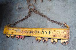 Steel lifting jib & chain