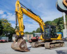 JCB JS 220 XD 22 tonne demolition spec steel tracked excavator Year: 2012 S/N: 2125067 Recorded