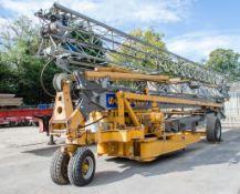 San Marco H321 32 metre self erecting tower crane Year: 2007 S/N: 32/461