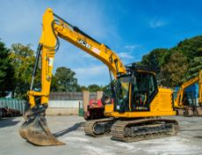 JCB 131 X LC 14 tonne steel tracked excavator Year: 2019 S/N: 2779209 Recorded Hours: 623 c/w