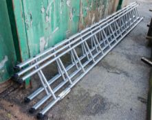 3 - aluminium ladders