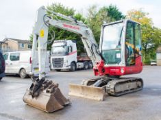 Takeuchi TB230 3 tonne rubber tracked mini excavator Year: 2016 S/N: 23001324 Recorded Hours: