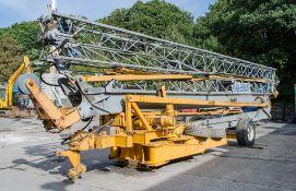 San Marco H351 35 metre self erecting tower crane Year: 2007 S/N: 340/121