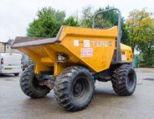 Terex 9 tonne straight skip dumper Year: 2013 S/N: ED4MV4155 Recorded Hours: 2532