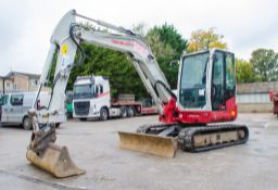 Takeuchi TB260 6 tonne rubber tracked midi excavator Year: 2016 S/N: 126001565 Recorded Hours: 3163