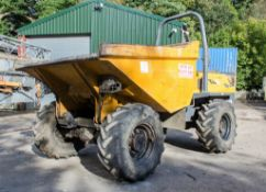 Terex TA6 6 tonne straight skip dumper Year: 2013 S/N: ED1MS3949 Recorded Hours: 2268