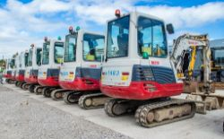Contractors Plant Auction, including National Hire Company Machinery