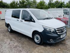 Mercedes-Benz Vito 1.6 111 CDI Long - 2016 '16 Reg' **Crew-Van** '6 Seats ' ULEZ Compliant'