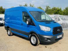 **ON SALE **Ford Transit 2.2 TDCI 100 L2 H2 2015 ' 65 Reg ' Solid Blue ' Panel Van ' - No Vat Save