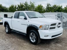 Dodge Ram 5.7 Hemi V8 Quad-Cab '' Sport '' 4WD 2012 - Air con - Fresh Import - LHD - NO VAT SAVE 20%
