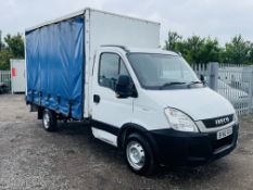 ** ON SALE **Iveco Daily 35S11 L2 2010 '60 Reg' Curtainsider Luton ** Tail-Lift** Automatic -3 seats