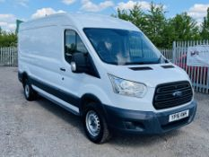 ** ON SALE **Ford Transit 2.2 TDCI 125 T350 L3 H2 2016 '16 Reg' Air Con - 3 seats - Panel Van