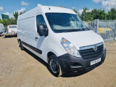 **ON SALE** Vauxhall Movano 2.3 CDTI F3500 L3 H2 2015 '15 Reg' Air Con - Panel Van - LCV -