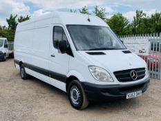 Mercedes-Benz Sprinter 2.1 313 CDI L3 H3 2013 '63 Reg' - 3 seats - Panel Van