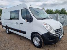 ** ON SALE **Renault Master 2.3 DCI 125 LM35 'Crew-Van'- 2013 '13 Reg' 7 Seats L4 H2 - Panel Van -