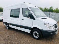 Mercedes-Benz Sprinter 313 CDI L3 H3 Crew-Van ** Messing Unit ** 6 Seats - LCV