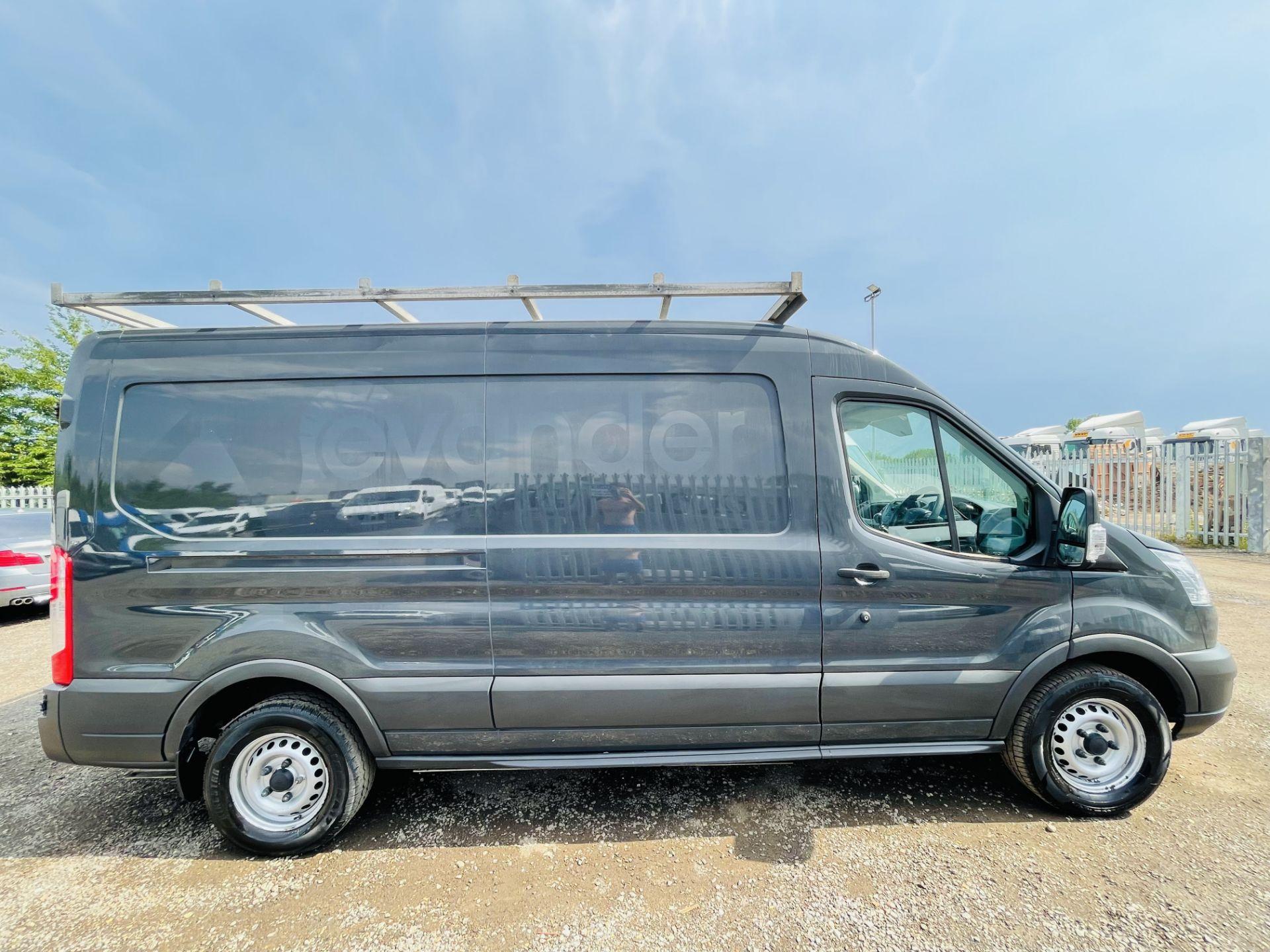 Ford Transit 2.2 TDCI 100 L3 H2 T350 2015 '65 Reg' - Panel Van - LCV - Grey - Image 11 of 14