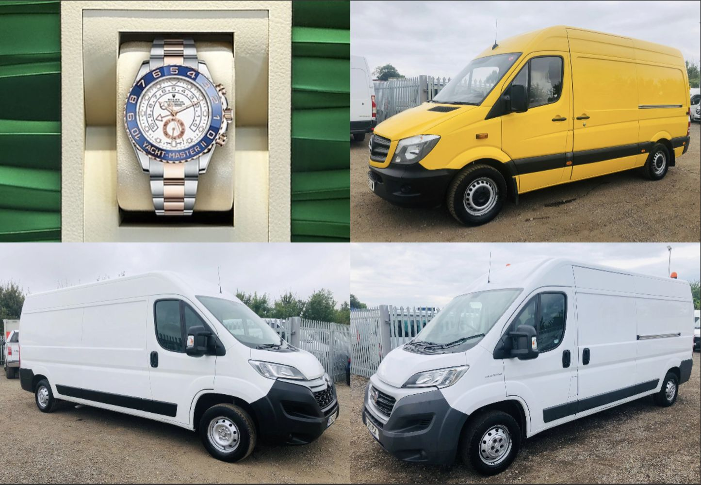 ***North American Import's - U.K Commercial Vehicle's ( LCV's) Over 50 Vehicle Lots ***