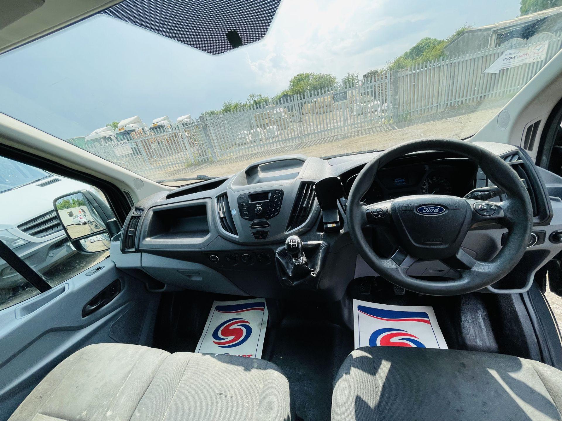 Ford Transit 2.2 TDCI 100 L3 H2 T350 2015 '65 Reg' - Panel Van - LCV - Grey - Image 13 of 14
