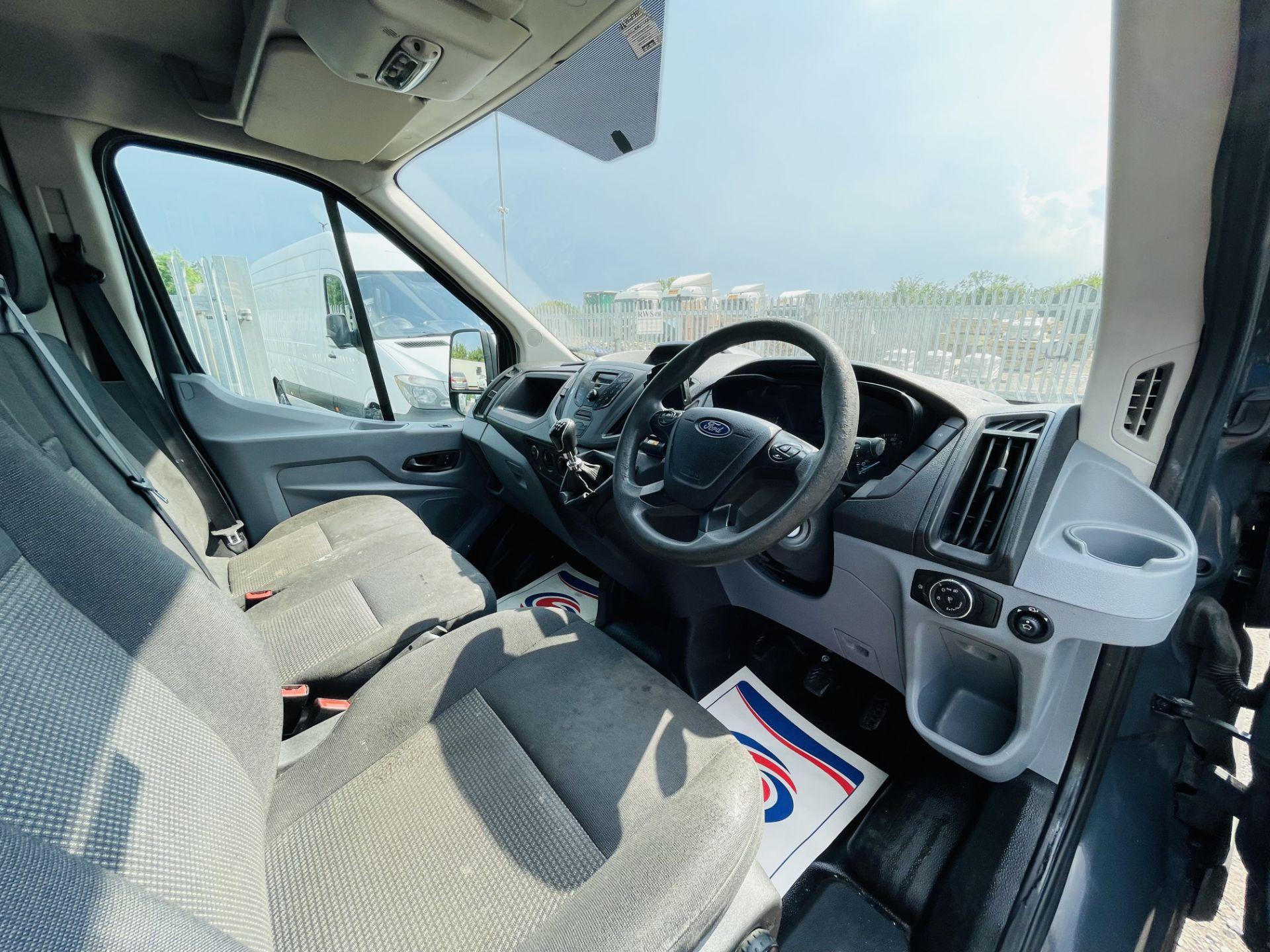 Ford Transit 2.2 TDCI 100 L3 H2 T350 2015 '65 Reg' - Panel Van - LCV - Grey - Image 12 of 14