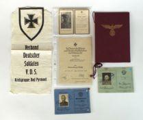 Collection of Third Reich ephemera