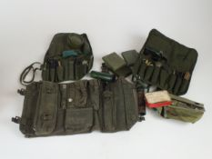 A collection of militaria