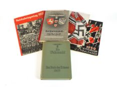 A small group of German Third Reich books and literature