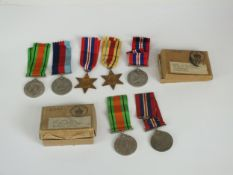 Group of WW2 medals