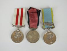 Crimea and Indian Mutiny medals
