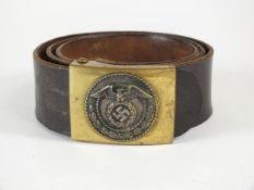 German Third Reich SA belt and buckle