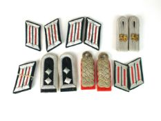 Mixed group of German Army insignia