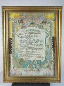 NAVAL INTEREST - HMS Exeter Proclamation