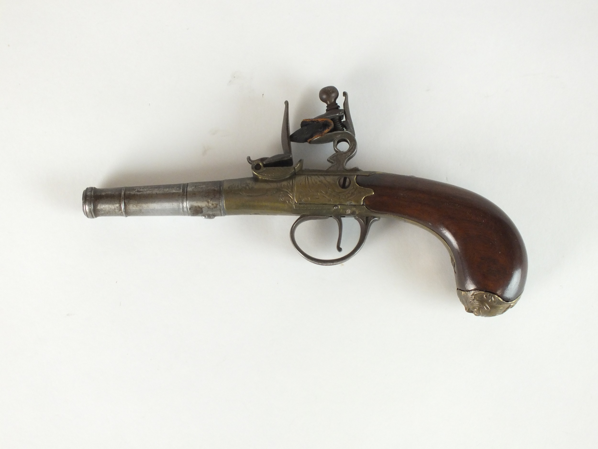 An English flintlock 'Queen Anne' pistol - Image 5 of 5