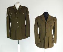 6th Queen Elizabeth's Own Gurkha Regiment and Royal Military Police uniform