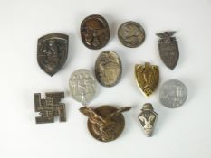 A group of German tinnies/badges