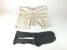 German men's mesh cotton underwear, possibly DAK (appear to be unworn, with small stain to the