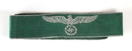 German Third Reich Land Customs title