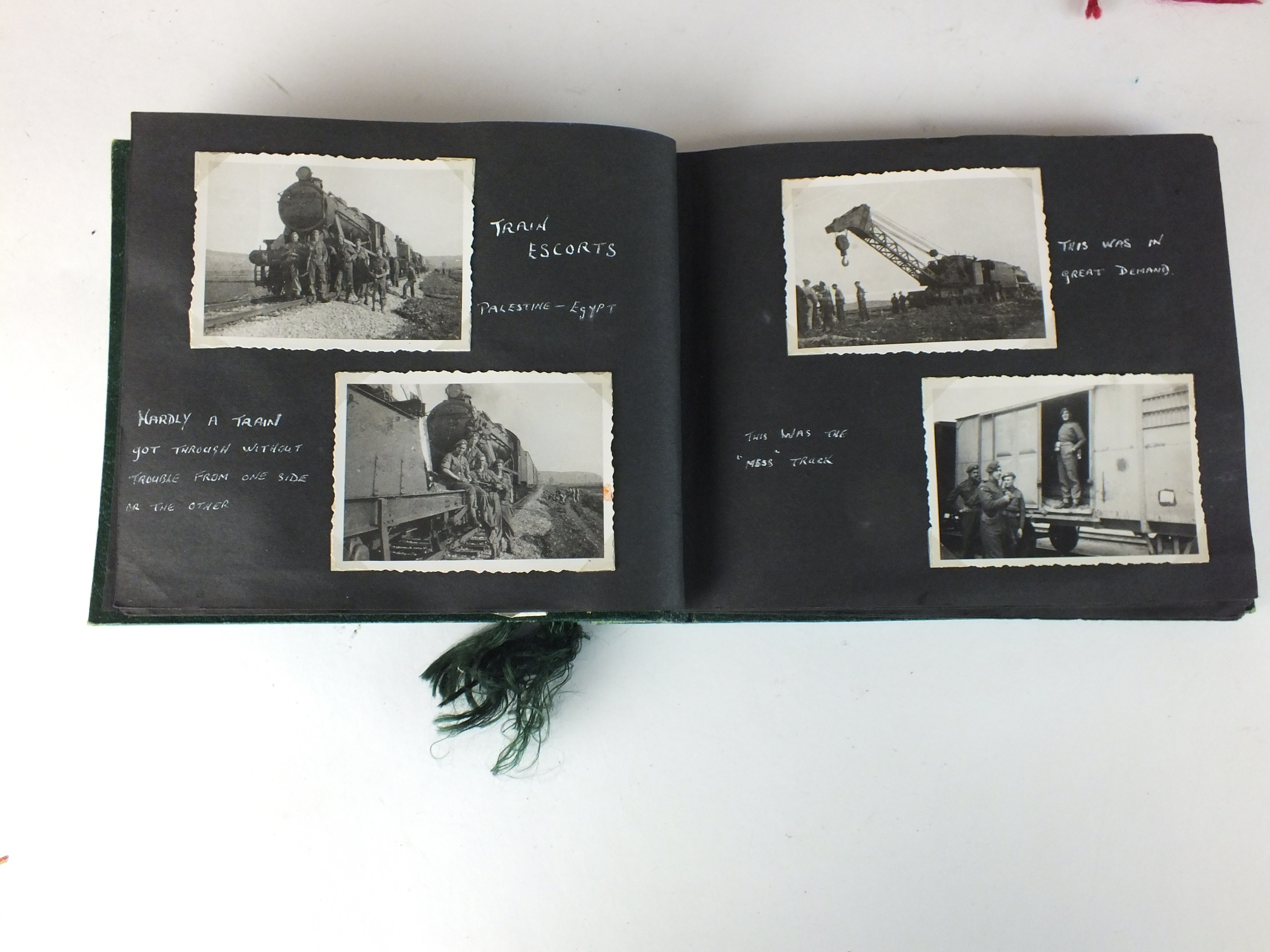 Palestinian and Royal Interest - three photograph albums - Image 5 of 9