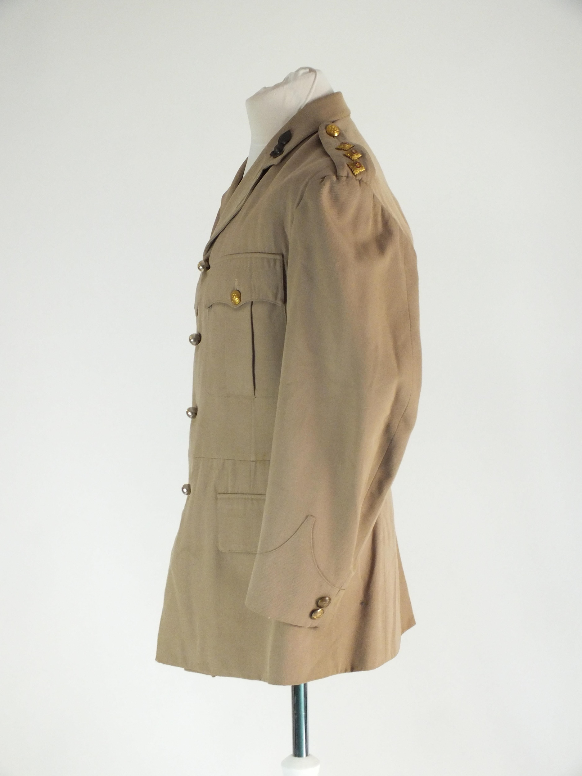 RAF and Royal Engineers tropical summer dress uniform - Image 6 of 7