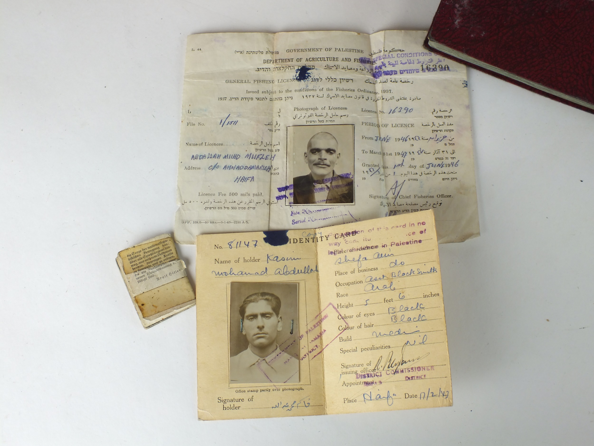 Palestinian and Royal Interest - three photograph albums - Image 2 of 9