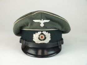German Third Reich Army Infantry NCO's Infantry cap