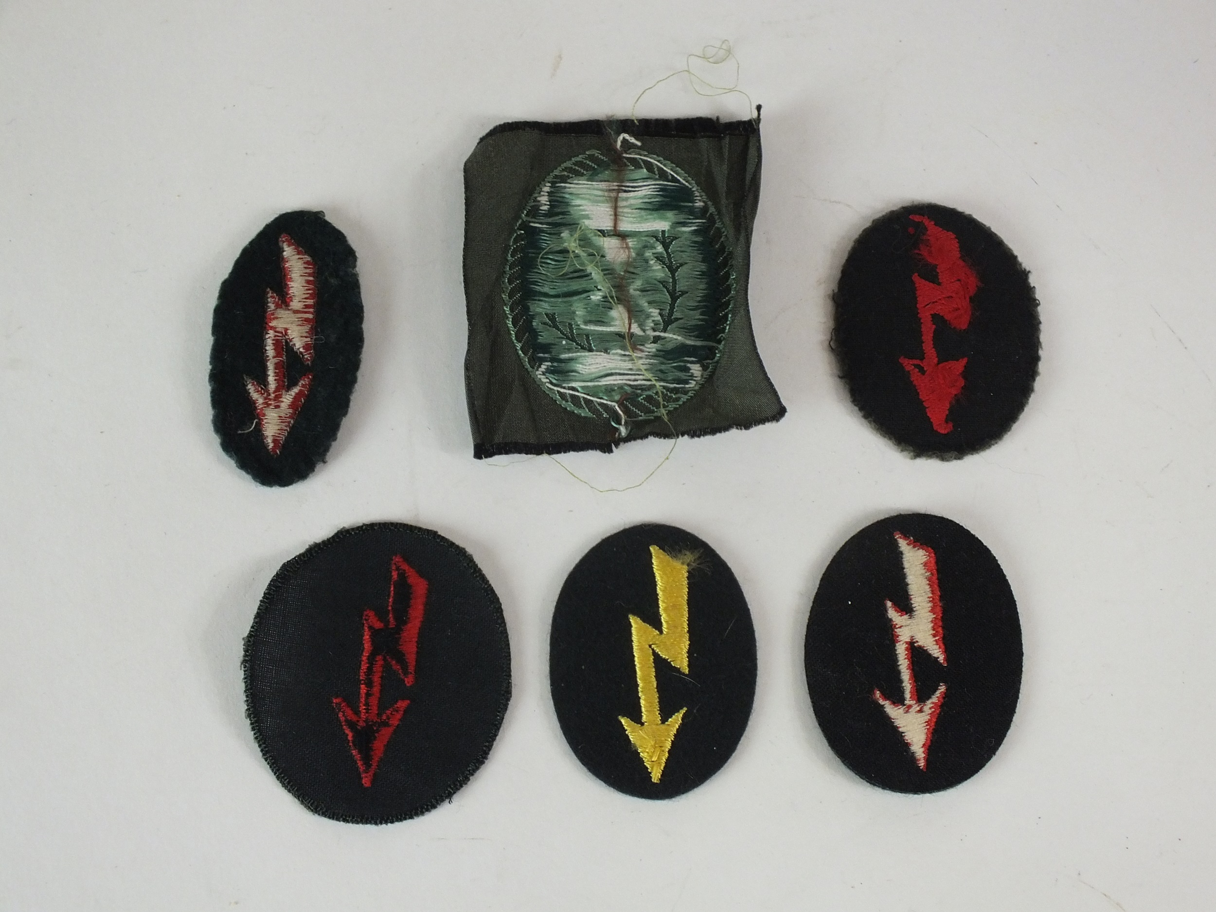 German Proficiency patches and a post-war Ski Jager patch - Image 2 of 2